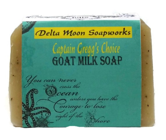 natural soap, Captain Gregg's Choice Goat Milk Soap, Mint Soap, Sea Kelp Soap, Lemongrass soap, tea tree soap, shaving soap, spa soap