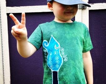 Batik Mandolin Head T Shirts- Size 4T