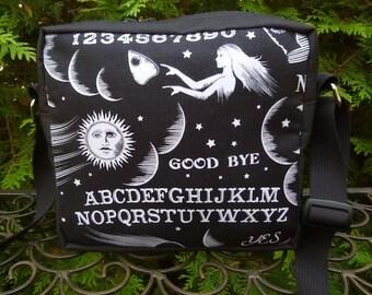 Ouija Board hipster bag, shoulder bag, cross body bag, The Otter