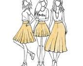 Tania Culottes - Sewing Pattern - Megan Nielsen