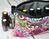 Essential Oil Bag - Essential Oil Pouch - Oil Bags - Essential Oil Holder - Fast shipping - Waterproof lining fabric - YOU PICK FABRIC