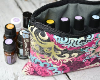 Essential Oils Take Along Bag by Borsa Bella - Waterproof lining fabric - YOU PICK FABRIC