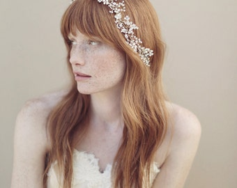 Baby's Breath crystal hair vine - Style 336 - THE ORIGINAL - Ready to Ship