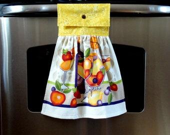 Hanging Dish Towels - Yellow Sangria - Set of 2