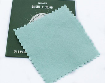 2pc Jewelry Silver Polishing Cleaning Cloth-8290x2