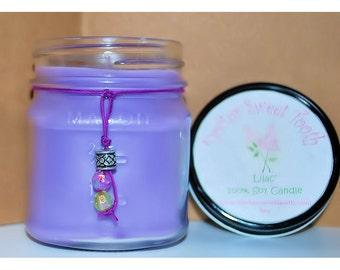Lilac Soy Mason Jar Candle 8oz