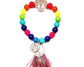 Bling Peace AA recovery serenity prayer bracelet FrEE ShiP