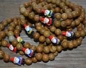 Woodland Gnome Gemstone Stretch Bracelet - Back by popular demand!