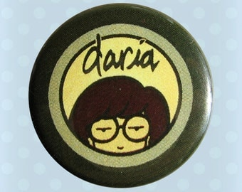 Daria 1990s MTV - 1 Inch Pinback Button