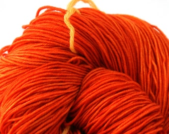 Esopus Hand Painted 100% SW Merino 500yds 4oz Carrot Juice