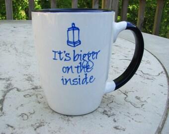 Doctor Who Mug for Coffee, Tea or Cocoa