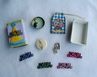 Boyish Happy Birthday Matchbox with Goodies