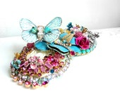 Butterfly Pad - OOAK Hairband - Ready to ship xx