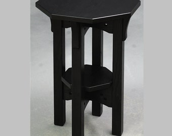 Arts and Crafts, Gothic, Mission, Display Table, Plant Stand. ON SALE Reduced 25%