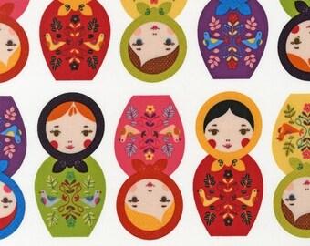 Little Kukla by Suzy Ultman for Robert Kaufman, Bright, Yard