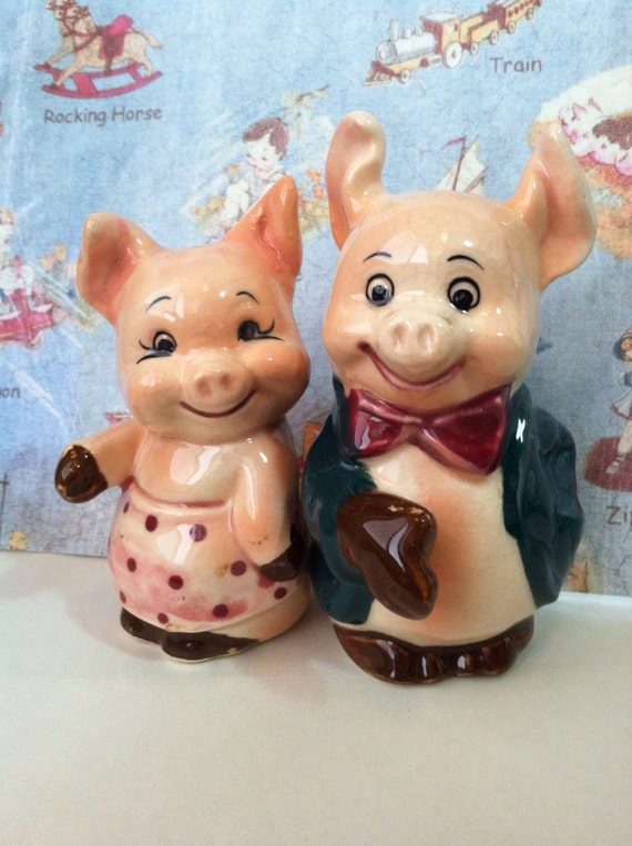 Vintage Mice Cake Toppers