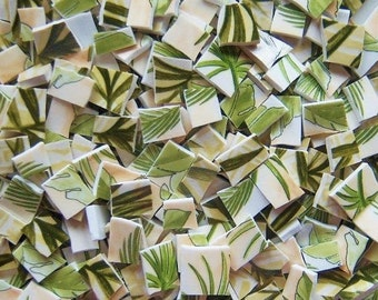 Mosaic Tiles--Tropic Palms--100 Tiles