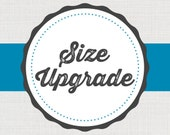 Size, Color, Print, Ribbon, Border Any Upgrade x1