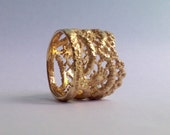 Lily Lace ring in 14k solid gold