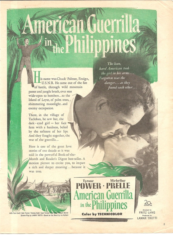 Vintage Magazine Original Movie Promo Ad American