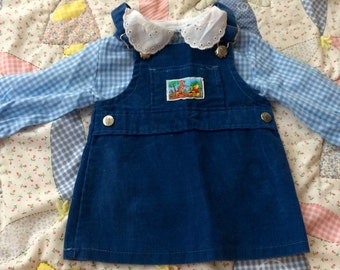 70s Winnie the Pooh Outfit 9-12 Months