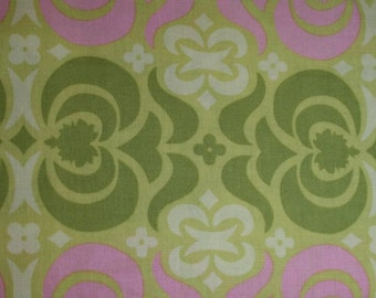 Amy Butler Midwest Modern Garden Maze in Sand ab23-sand cotton fabric By the Yard