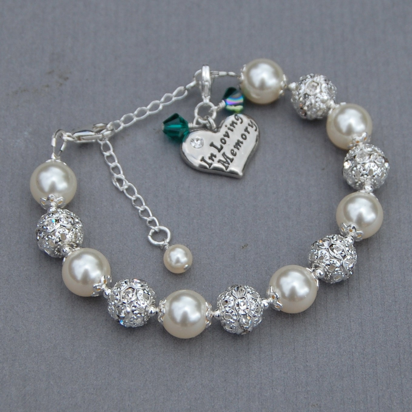 in loving memory jewelry in memory jewelry in loving memory charm bracelet by 9139