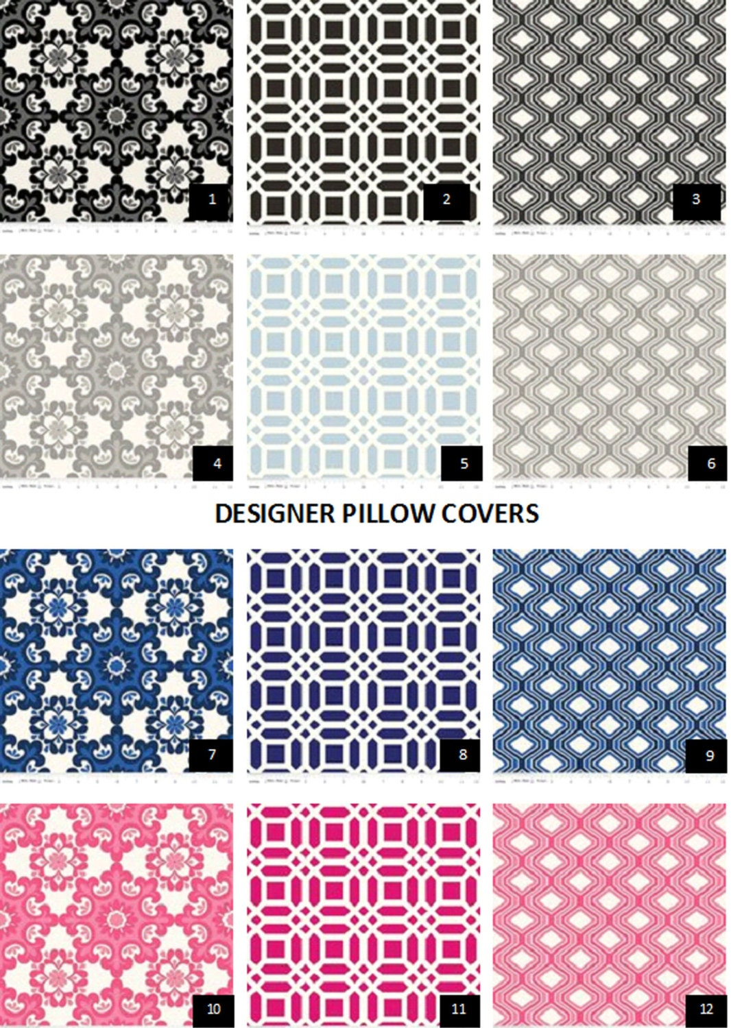 Fabric sample throw pillow valances fabric decorative by - Fabric for throw pillows ...