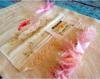 Muslin jewelry/lingerie bag