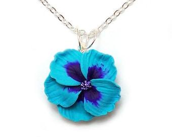 Hibiscus Necklace - Hibiscus Jewelry