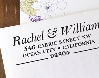 custom ADDRESS STAMP with proof from USA, Eco Friendly Self-Inking stamp, address stamp, custom stamp, custom address stamp, stamper 195