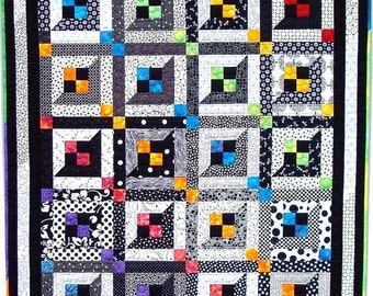 Lattice Windows Quilt Pattern PDF #425e