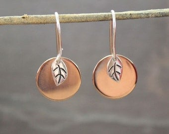 Bodhi Leaf with Copper Moon