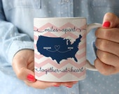 Mother's Day Mug - Personalized Coffee Mug -Together at  Heart