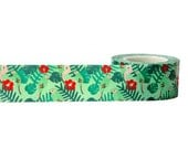 SALE Tropical Decorative Tape • Little B Tape • Tropical Washi Tape • Parrot Tape • Tropical Paper Tape • Flower Tape (100659)