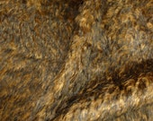"""Schulte Mohair 15/16"""" Brown Tipped 1/4y"""
