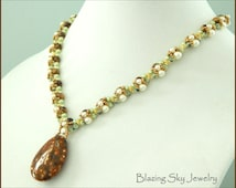 Beading Tutorial Marilyn Necklace - Beading Pattern, PDF Instant Download