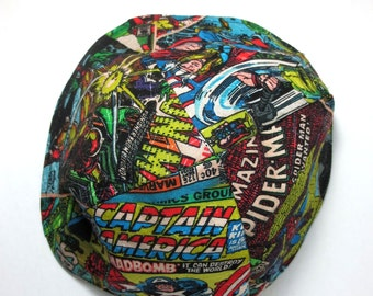 Avengers Marvel superheros kippah  Spiderman Thor Captain America Iron Man yarmulke