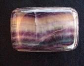 Rainbow Fluorite Buckle