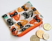 Coin purse - CHOICE OF FABRIC - pocket money purse wallet kids gift stocking filler