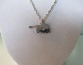 I Love Oklahoma Necklace