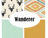 Custom Crib Bedding-Wanderer