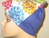 FREE SHIP USA Colorful Tumbleweed  Hat, Cancer, Alopecia, Sleep Cap,  Chemo Hat