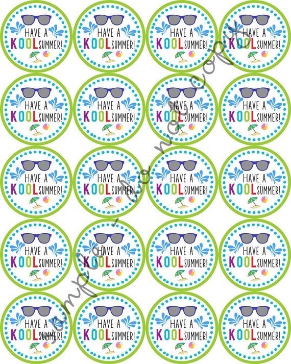 Fabulous image intended for have a kool summer printable