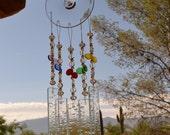Windchime Misty Rainbow Stained Glass