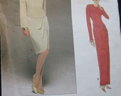 Vogue Womens Dress Pattern Tom and Linda Platt 1708