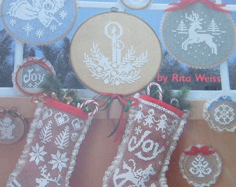 Lace Net Embroidery Pattern Booklet