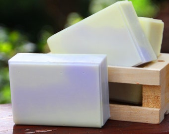 Handmade Shea Butter Soap - Sweet Citrus and Lavender Soap // Gifts for Her