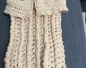 Baby Cocoon, Infant Swaddler, Crochet Cocoon, Unisex Wrap, Handmade Beige Cocoon,Baby Carrier,Baby Sack