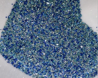 German Glass Glitter - Blue Moon